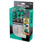 Wera 05223161001 367/7 7-Piece Kraftform Plus Torx HF Screwdriver Set