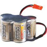 Conrad Energy 206058 NiMH 2/3 A Receiver Battery Pack 6V 1300mAh