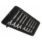 Wera 05020012001 Set of 8 Joker Ratcheting Combination Wrenches, I…