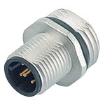Binder 09-3431-77-04 Male 4 Pin with Solder and PG9 Fixing Thread