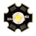 TruOpto OSW4XME1C1S 1W 3.3V White Power LED Star 100lm