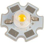 TruOpto OSM5XME3C1S 3W 3.3V Warm White Power LED Star 180lm