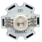 TruOpto OSTCXBEAC1S RGB SMD LED Star Dome Lens 50/70/20lm