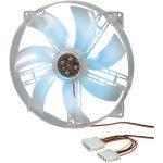 Akasa AK-F1825SM-CB 18cm Blue LED Case Fan