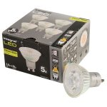 Integral LED Glass GU10 LED Bulb Warm White 3.6W (35W) 2700K 260lm…