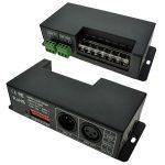 LED Supplies DMX Controller Const Voltage 12VDC – 24VDC 4 chan x 5…