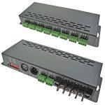 LED Supplies DMX Controller Constant Voltage 12VDC-24VDC 24 Chan x…