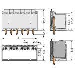 WAGO 2092-1405 picoMAX 5.0 Male 5P Straight Pk100