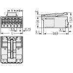 WAGO 2091-1524/002-000 picoMAX 3.5 Male 4P THR Tape Pk200