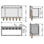 WAGO 2092-1410/200-000 picoMAX 5.0 Male 10P THR Tape Straight Pk100