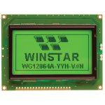 Winstar WG12864A-NYG-VN Graphic Display Reflective 128 x 64 Pixels