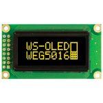 Winstar WEG005016ALPP5N00000 50×16 Graphic OLED Display Yellow