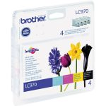 Brother Ink Cartridges Combo Pack Original LC970BK + LC970C + LC97…