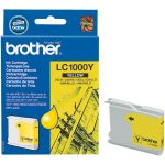 Brother Ink Cartridge Original LC1000Y Yellow