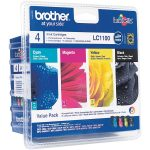 Brother Ink Cartridges Combo Pack LC1100BK+LC1100C+ LC1100M+LC1100…