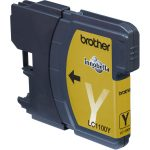 Brother Ink Cartridge Original LC1100Y Yellow