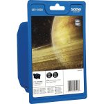 Brother Ink Cartridge 2 Pack Original LC1100BK Black