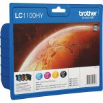 Brother Ink Cartridges Combo Pack LC1100HYBK+LC1100HYM+LC1100HYM+L…