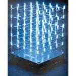 Velleman K8018W 3D LED Cube 5 x 5 x 5 (White LED)