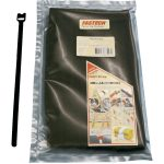 Fastech ETK-7-200-9999 Hook and Loop Cable Tie 200mm x 7mm Black
