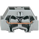 WAGO 261-331 2 Conductor Fixing Flanges Terminal Block Grey AWG28-…