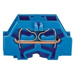 WAGO 261-334 2 Conductor Fixing Flanges Terminal Block Blue AWG28-…