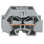 WAGO 262-341 4 Conductor Snap In Terminal Block Grey AWG28-12 100pk