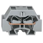WAGO 262-344 4 Conductor Snap In Terminal Block Blue AWG28-12 100pk