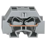 WAGO 262-351 4 Conductor End Terminal Block Grey AWG28-12 100pk