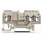 WAGO 279-993 3 Conductor Through Terminal Block Grey AWG28-16 100pk