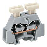 WAGO 261-306/341-000 2-Cndtr. 2 Push Btn. F-Flange T-Block Orange …