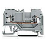 WAGO 279-901 2 Conductor Through Terminal Block Grey AWG28-16 100pk