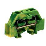 WAGO 261-327 2 Conductor Terminal Block Green-yellow AWG28-14 200pk