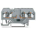 WAGO 280-673/281-410 5mm 3-cond. Diode 250V Terminal Block Grey AW…