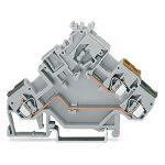 WAGO 280-554 5mm Actuator Terminal Block Grey AWG 28-14 50pk