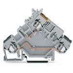WAGO 280-555 5mm Actuator Terminal Block Grey AWG 28-14 50pk