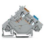 WAGO 280-562/281-411 5mm 2-cond. Diode 400V Terminal Block Grey AW…
