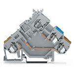 WAGO 280-565 5mm Actuator Terminal Block for Fuse Plug Grey AWG 28…