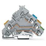 WAGO 280-572/281-411 5mm Actuator Diode 400V Gnd Trm. Block Grey A…