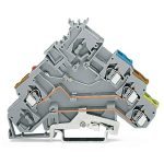 WAGO 280-572/281-434 5mm Actuator LED 24V Terminal Block Grey AWG …