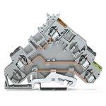 WAGO 280-585 5mm Actuator Terminal Block Grey AWG 28-14 50pk