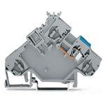 WAGO 280-592 5mm 2-conductor Actuator Supply Terminal Block Grey A…