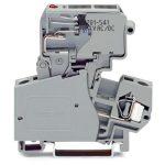 WAGO 281-613/281-541 10mm Fuse 1/4x1in LED 15-30V Disc. T-blk. Grey …
