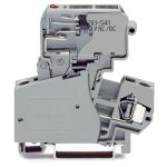 WAGO 281-613/281-542 10mm Fuse 1/4x1in LED 30-65V Disc. T-blk. Grey …