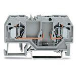 WAGO 281-915/281-400 6mm 2-cond. Diode 250V Terminal Block Grey AW…
