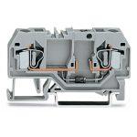 WAGO 281-915/281-411 6mm 2-cond. Diode 250V Terminal Block Grey AW…