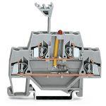 WAGO 280-943/281-434 5mm Double Deck LED 24V Terminal Block Grey A…