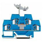 WAGO 281-629 6mm Double Deck Through Trmnl. Block ATEX Ex I Blue A…