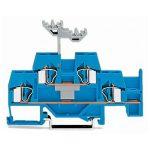 WAGO 281-630 6mm Double Deck Jumper Through T-blk. ATEX Ex I Blue …