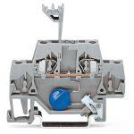 WAGO 280-502/281-613 5mm Varistor 24V Terminal Block Grey AWG 28-1…